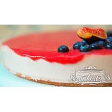 """Живой торт """"Клубничка"""""""