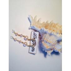 Серьги «Жемчужные сны»