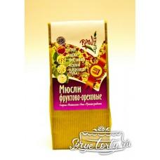 """Сырые мюсли """"Фруктово-ореховые"""" 250 грамм"""