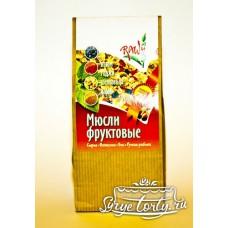 """Сырые мюсли """"ФРУКТОВЫЕ"""" 250 грамм"""