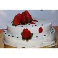 """Сырой торт """"Свадебный"""" 2,5 кг"""